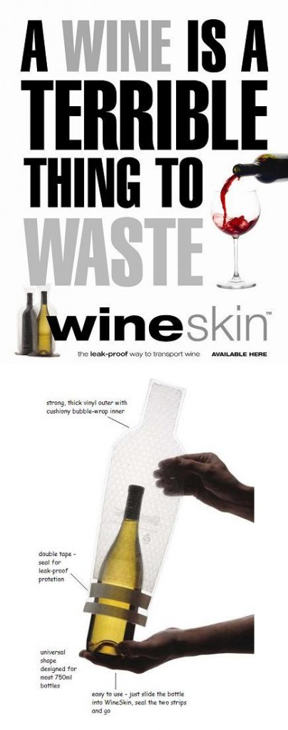 Win a Wine Skin prize pack from Rosehill Wine Cellars!