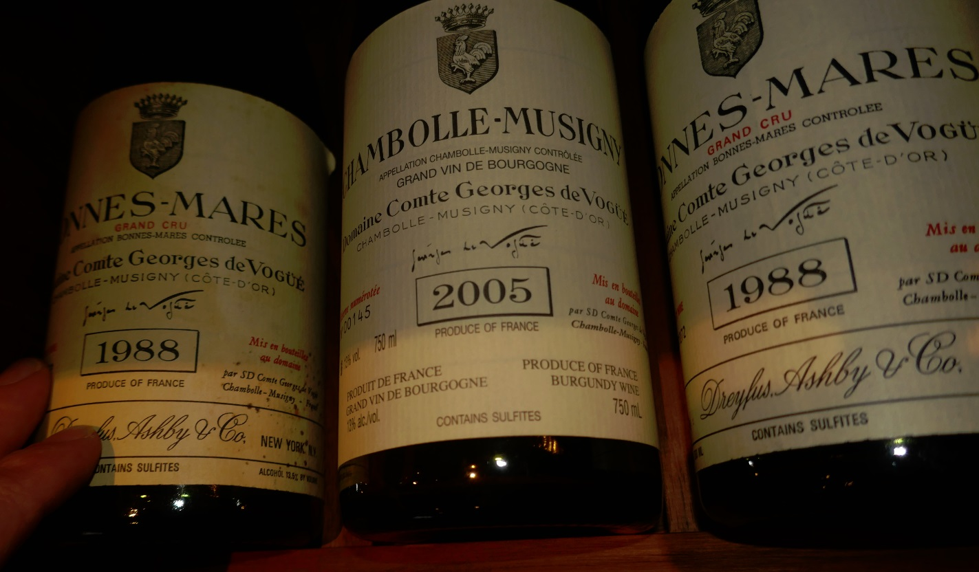 good vintages, good years for wine