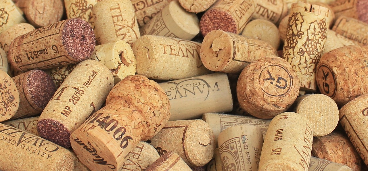 A wet cork keeps the air out of a wine bottle