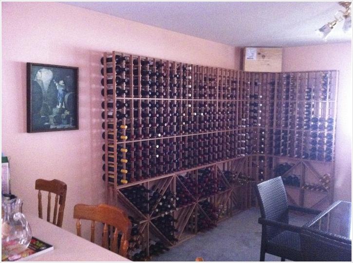 Redwood Wine Racks