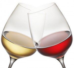 Crystal Wine Glasses are available at Rosehill Wine Cellars