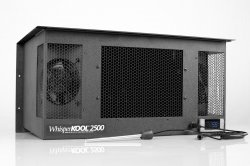 WhisperKool 2500, small wine cellar cooler unit from home use