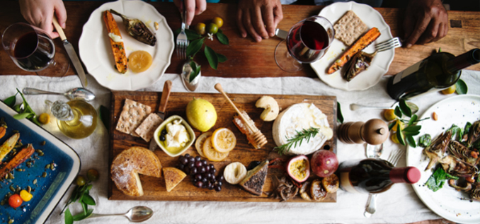 Explore wine and cheese pairings with friends