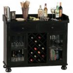 Cabernet Hills Wine Bar Cabinet perfect for wine and cocktails.