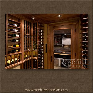 Walnut is among the best wood for wine cellars.