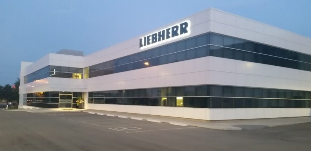 Liebherr Canada head office, Burlington