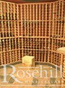 (22) Angled Walls in Wine Room - Modular Wine Racking