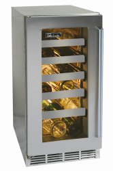 Glass Door - Stainless Steel Perlick Wine Reserve Indoor