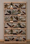 Retail 15 Wood Wine Rack