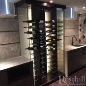 (35) Wine Cabinet with Modern Peg System