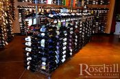 (7) Metal Wine Racking - Retail Location - Island Displays