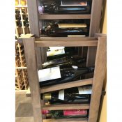(3) Premier Cru Line of Wine Racks Maple