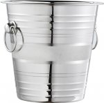 Stainless and Satin Champagne Bucket