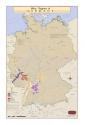 Germany Wine Map