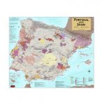 Portugal & Spain Wine Map