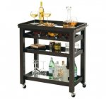 Pienza Wine & Bar Cart