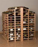 Retail 13 Wood Wine Rack