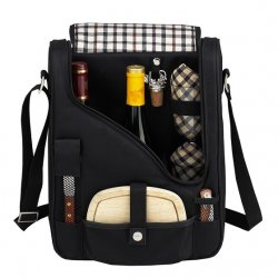 London Double Wine & Cheese Carrier