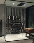 Modern Vintage View Wine Cellar