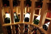 (49) Premier Cru Wine Racking with Angled Curve Display