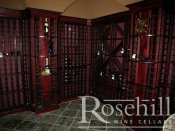 (45) Modular Redrack Wine Racking Stained