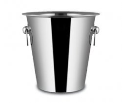 Stainless Steel Champagne Bucket with Mirror Finish
