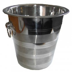 Two-tone Stainless Steel bucket