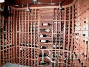 (9) High End Kit Wine Racking with Angled Displays