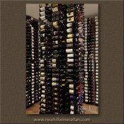 (3) Rosehill-HA-02 - Floor to Ceiling Island Wine Racking