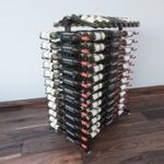 4 Foot High - Island Wine Rack