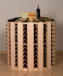 Retail 21 Wood Wine Rack