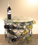 Demi Table Wine Rack