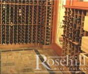 (29) Slate Floor in Wine Cellar - still great from 1990's cellar