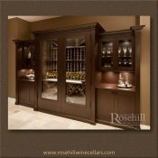 (11) Highlight your living space with a custom wine cabinet SL