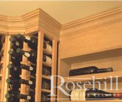(32) Large Crown Mouldings Features in Wine Cellar