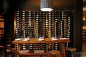 (11) Modern Restaurant - Metal Wine Racking