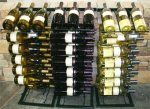 POP Point of Purchase Wine Rack