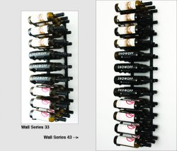 WS33/43 - Triple Depth Metal Wine Rack