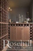 (16) Still Life Wine Cellar with Terra Cotta Storage