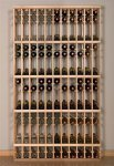 Retail 12 750ml Wood Wine Rack