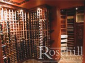 (42) Modular Wine Racking with niche
