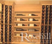 (33) Customised Modular Wine Racks with Horizontal Display Shelves