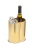 Gold finish - Aluminum based wine cooler
