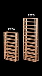 F07 Burgundy/Bordeaux Bin Wine Rack