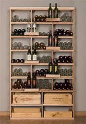Retail 6 Wood Wine Rack