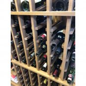 (2) Premier Cru Line of Wine Racks Maple