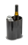 Black finish - Aluminum based wine cooler