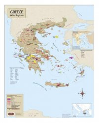 Greece Wine Map