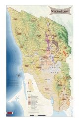 Sonoma County Wine Map