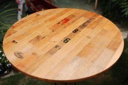 "30"" Cooperage Table Top"